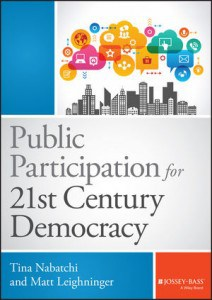 Top 5 Public Participation Books Of 2015 & 2016 (so far!)