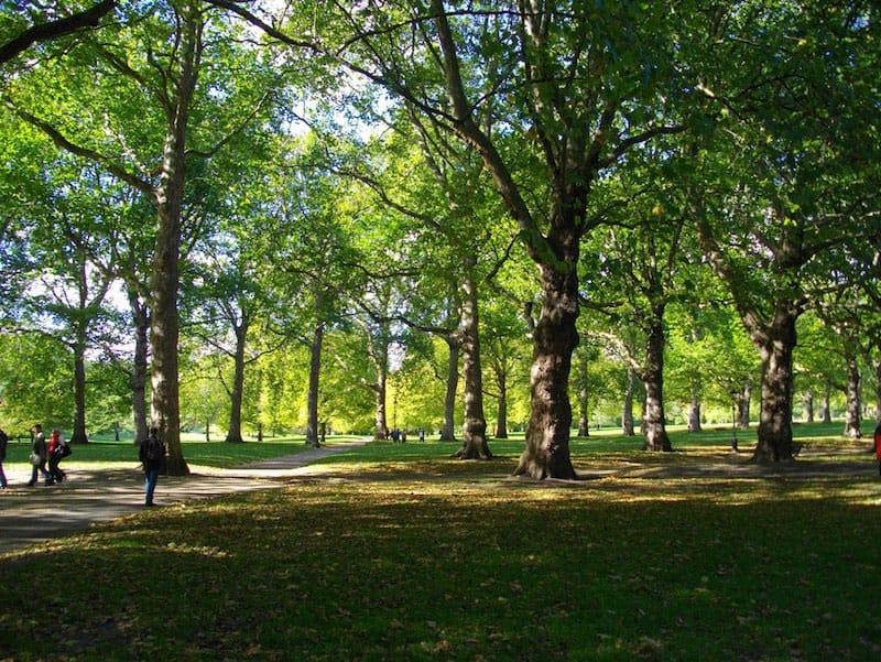 Green Park/Paul Robertson/Flickr/CC