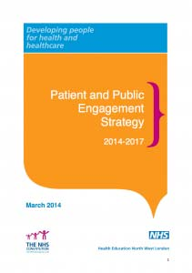 Patient and Public Engagement Strategy