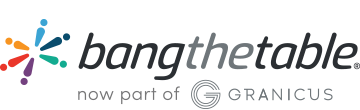 Bang the Table is now part of Granicus logo